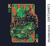 king of road illustration | Shutterstock .eps vector #1047249871