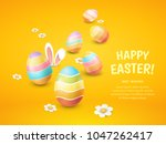 vector greeting card with title ... | Shutterstock .eps vector #1047262417