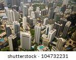 skyline of kuala lumpur | Shutterstock . vector #104732231