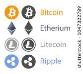online money logo vector | Shutterstock .eps vector #1047322789