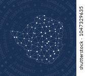 zimbabwe network style country... | Shutterstock .eps vector #1047329635