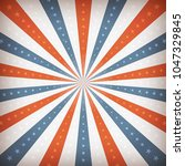 american fourth of july... | Shutterstock .eps vector #1047329845