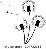 illustration with black... | Shutterstock .eps vector #104733365