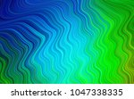 light blue  green vector... | Shutterstock .eps vector #1047338335