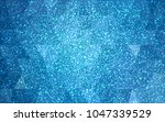 light blue vector christmas... | Shutterstock .eps vector #1047339529