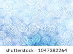 light blue vector doodle...   Shutterstock .eps vector #1047382264