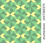 abstract seamless pattern with... | Shutterstock .eps vector #1047385375