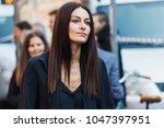 milan  italy   september 24 ...   Shutterstock . vector #1047397951