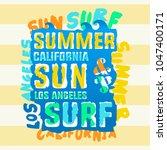 tee shirt design with... | Shutterstock .eps vector #1047400171
