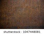 oxidized iron texture. oxidized ...   Shutterstock . vector #1047448081