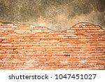 old brick wall | Shutterstock . vector #1047451027