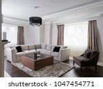 apartment interior design | Shutterstock . vector #1047454771