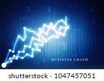 2d rendering stock market... | Shutterstock . vector #1047457051