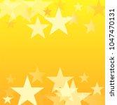 gold stars vector background.... | Shutterstock .eps vector #1047470131