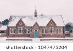 old village schoolhouse | Shutterstock . vector #1047475204
