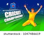 vector illustration of sports... | Shutterstock .eps vector #1047486619