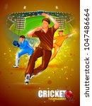 vector illustration of sports... | Shutterstock .eps vector #1047486664