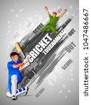 vector illustration of sports... | Shutterstock .eps vector #1047486667