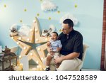 hapiness and beatiful family | Shutterstock . vector #1047528589