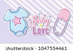 baby love card | Shutterstock .eps vector #1047554461
