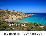 famagusta district  cyprus.... | Shutterstock . vector #1047555394