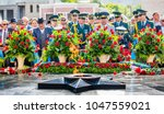 shymkent  kazakhstan  9th may ... | Shutterstock . vector #1047559021