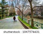 porsuk river view in eskisehir. ... | Shutterstock . vector #1047576631