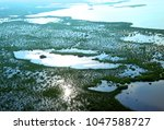 photo aerial of the biosphere... | Shutterstock . vector #1047588727