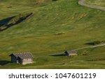 summer in alpe di siusi seiser... | Shutterstock . vector #1047601219