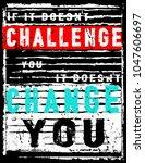 vintage slogan man t shirt... | Shutterstock .eps vector #1047606697
