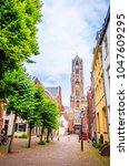 traditional old buildings and... | Shutterstock . vector #1047609295