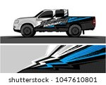 truck graphic vector kit.... | Shutterstock .eps vector #1047610801