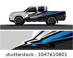 truck graphic vector kit....   Shutterstock .eps vector #1047610801