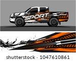 truck graphic vector kit.... | Shutterstock .eps vector #1047610861