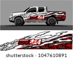 truck graphic vector kit.... | Shutterstock .eps vector #1047610891