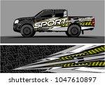 truck graphic vector kit.... | Shutterstock .eps vector #1047610897