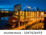 sacramento  feb 20  night view... | Shutterstock . vector #1047626455