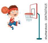 vector illustration of kids...   Shutterstock .eps vector #1047637615