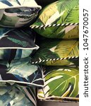 variety of tropical patterned... | Shutterstock . vector #1047670057