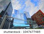 boston  ma  usa october 12 ... | Shutterstock . vector #1047677485