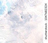 abstract watercolor galaxy sky... | Shutterstock . vector #1047682324