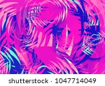 abstract colorful background... | Shutterstock . vector #1047714049