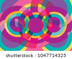 abstract colorful background... | Shutterstock . vector #1047714325