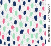 vector seamless pattern.... | Shutterstock .eps vector #1047762007