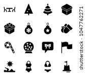 solid vector icon set   cafe... | Shutterstock .eps vector #1047762271