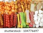 Stock photo dog food 104776697