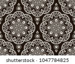 traditional seamless indian... | Shutterstock .eps vector #1047784825