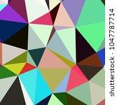 abstract background poligonal...