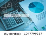 fraud and finance concept | Shutterstock . vector #1047799387