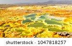 in  danakil ethiopia africa ...   Shutterstock . vector #1047818257